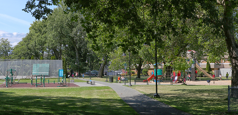 North Park and Harris Green Parks | Victoria